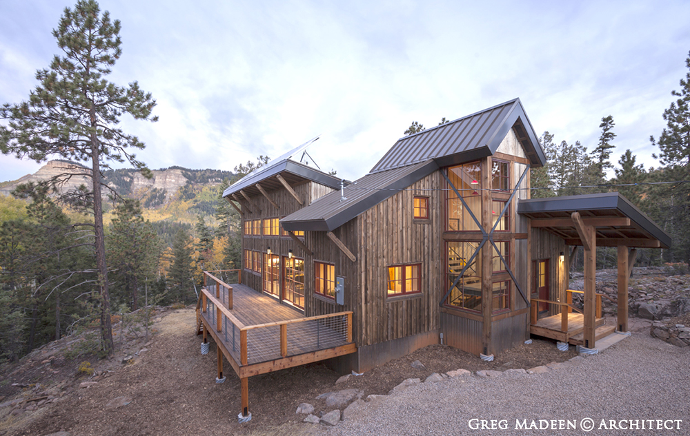 Madeen architecture construction llc aternative natural for Colorado style home plans